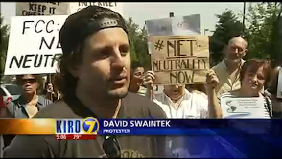 Seattle protests the FCC