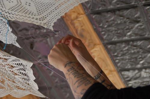 Lisa Congdon installing: life in wondermountain