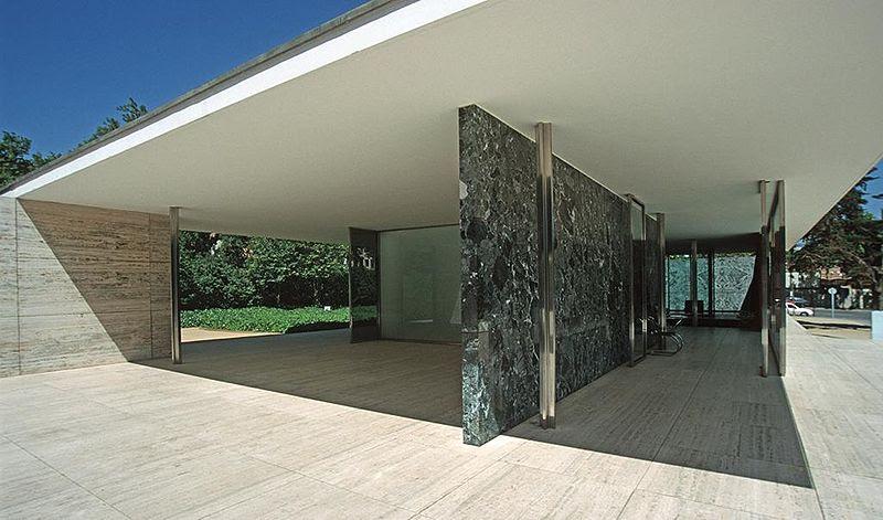 Archivo:Barcelona mies v d rohe pavillon weltausstellung1999 03.jpg