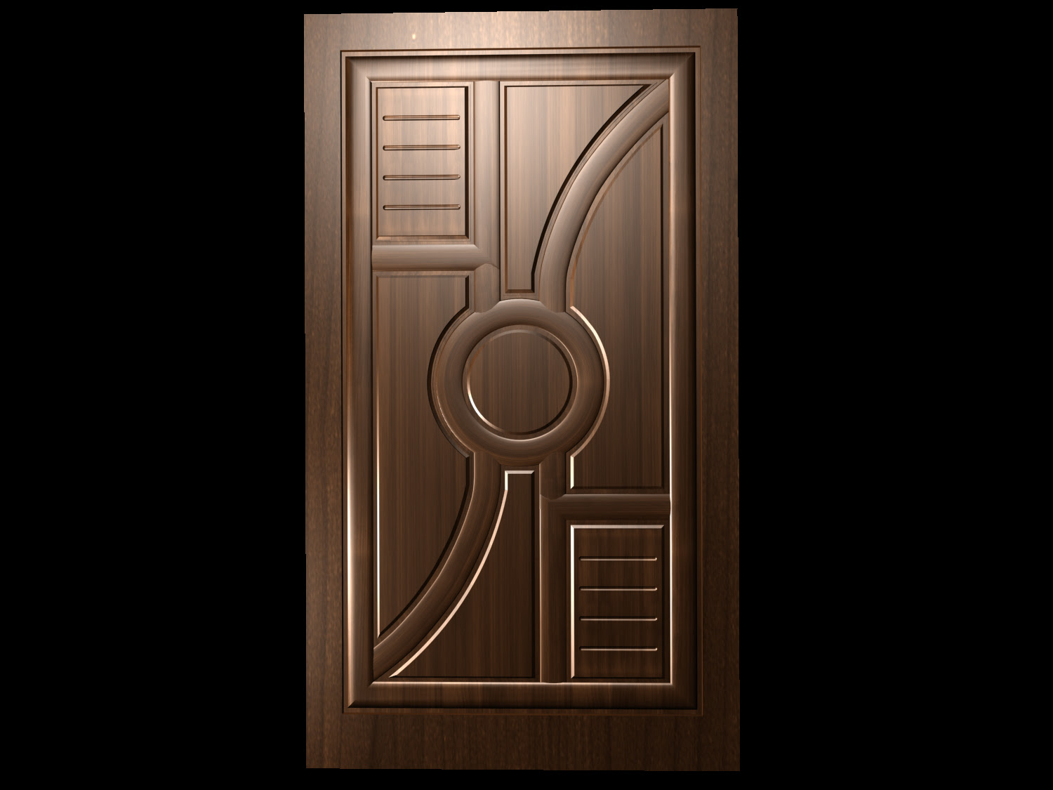 I Want Idea About Main Door Which Is Teak Wood But Simple Design To