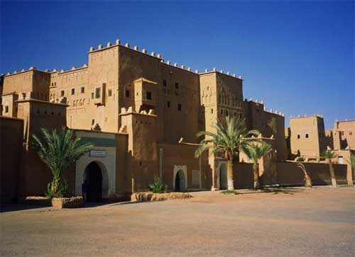 carnets de voyage maroc - ouarzazate - casbah de taourirt