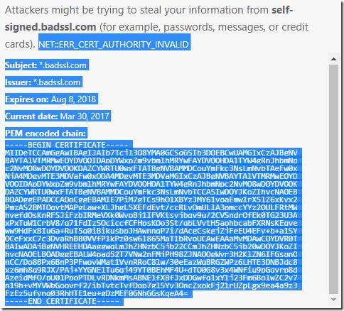 NET::ERR_CERT_AUTHORITY_INVALID on osu ppy sh - Google