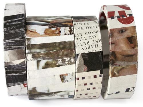 Papier-Karton-Armreif