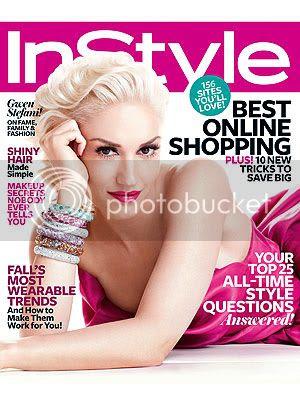 Gwen Stefani InStyle November 2011