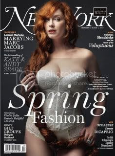 christina hendricks,ny mag,fashion magazine
