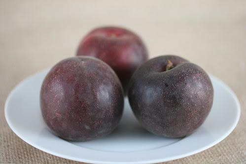 Brioche Plum Tart with Black Velvet Apricot
