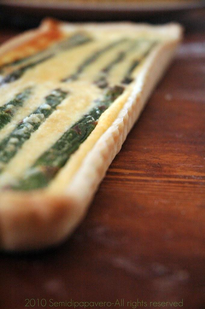 Tarte asparagi