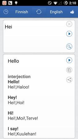 Finnish To English Translation Google