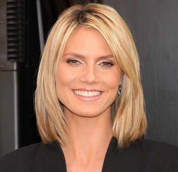 Damen Haarschnitt Mittellang Mittellange Damenfrisuren