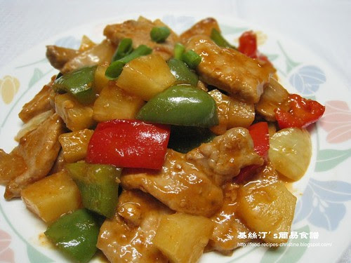 生炒排骨 Sweet and Sour Pork Chops