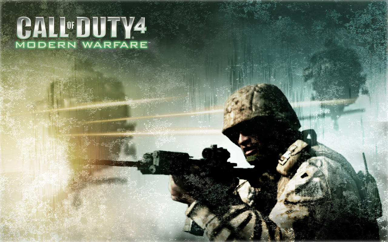 Fully pc games links: call of duty 4 modern warfare game.