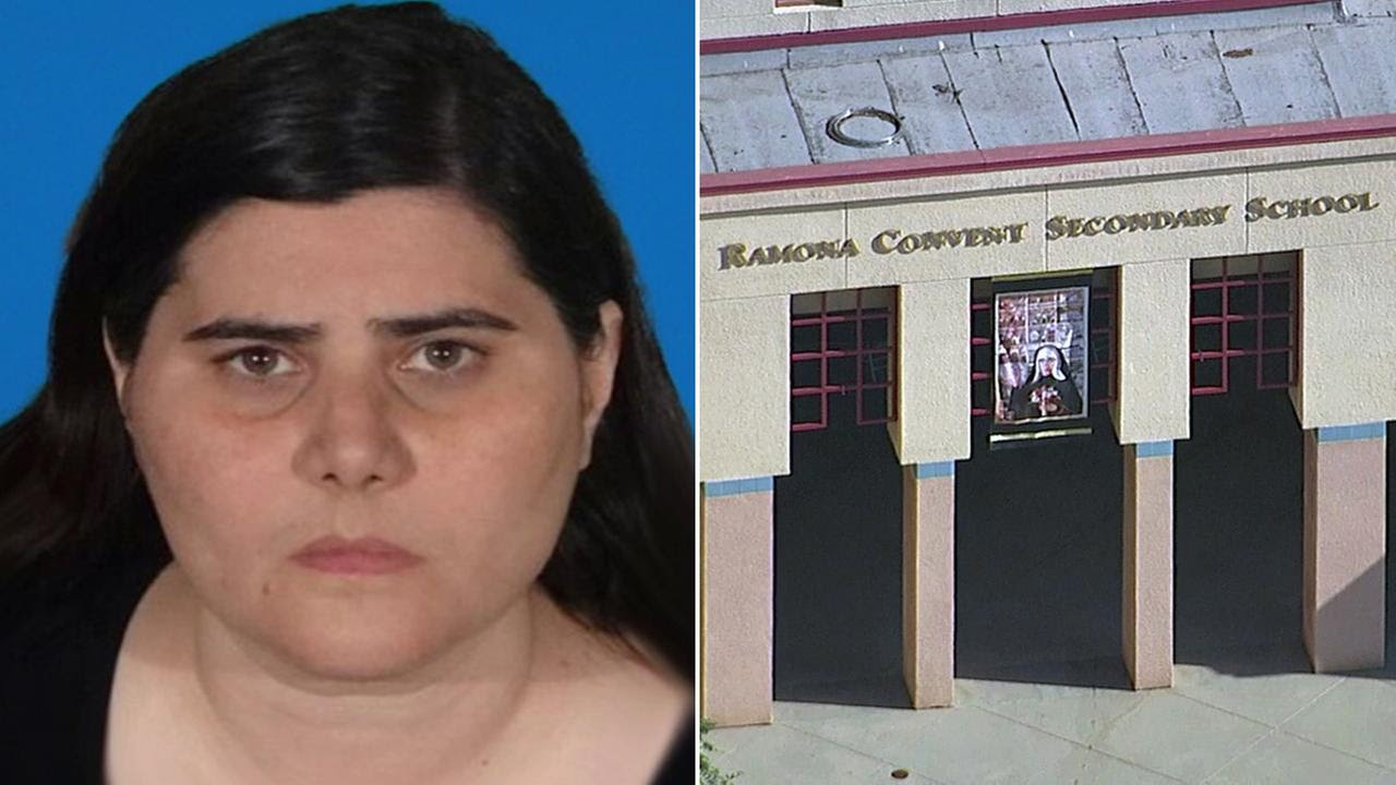 Image result for Ramona Convent teacher arrested for sexual relationship with student