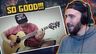 Toni Braxton   Unbreak My Heart (fingerstyle Cover) Reaction