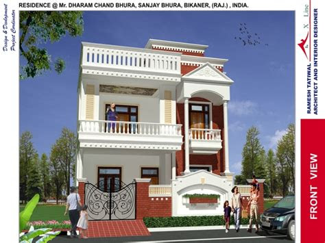 rustic home designs indian home design front view front