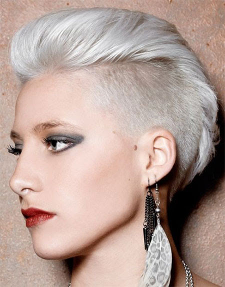30 + New One-Sided Shaved Hairstyles & Haircuts For Girls ...