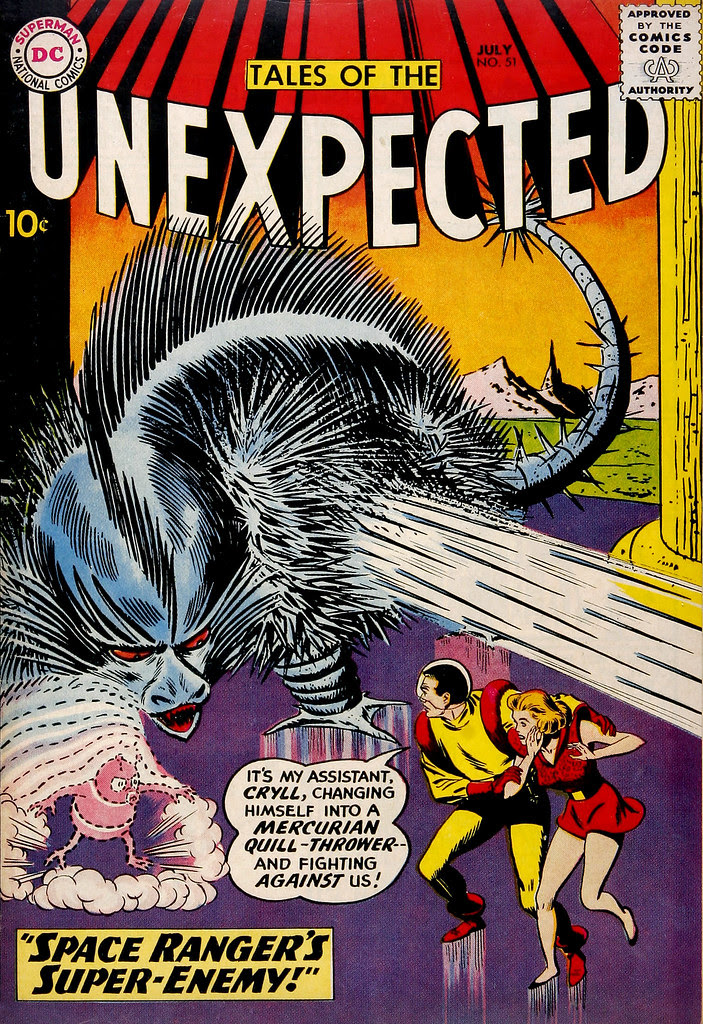 Tales of the Unexpected #51 (DC, 1960) Bernard Baily cover