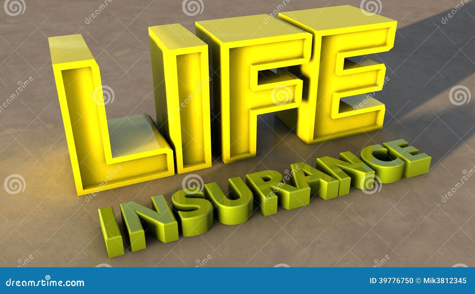 Life Insurance Stock Illustration - Image: 39776750