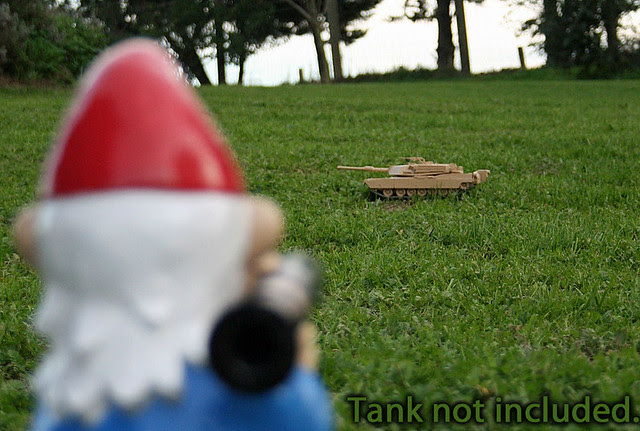 RPG7 Gnome Painted with Tank