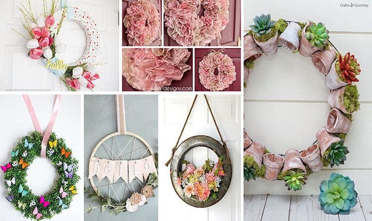 DIY Spring Wreath Ideas That Really Looks Gorgeous