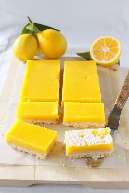 meyer lemon bars!