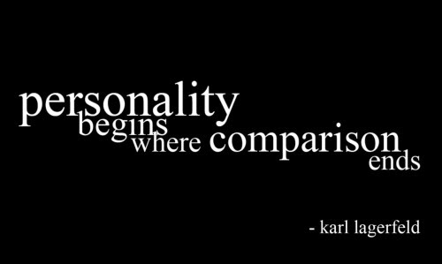 quote-book:  quote by Karl Largerfeld, designer of Chanel and Fendi submitted by tanyaoptimist