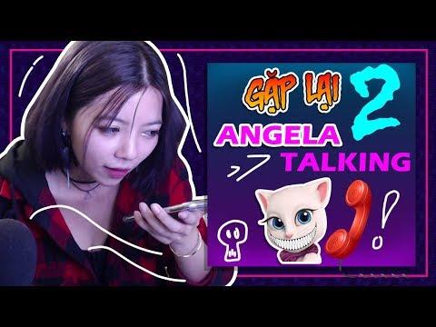 GẶP LẠI ANGELA VÀO LÚC 3PM LẠI GẶP HIỆN TƯỢNG LẠ || OHSUSU CHƠI TALKING ANGELA 3:00 LẦN THỨ 2