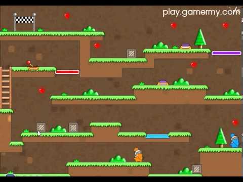 วีดีโอการเล่นเกม Twin Cat Warrior แมวแฝดผจญภัย