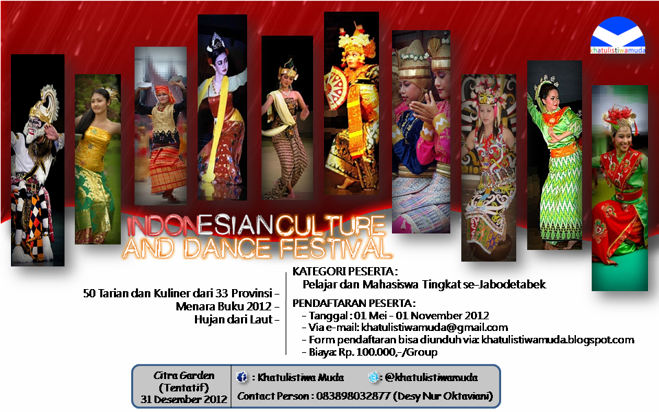 Indonesian Culture and Dance Festival 2 by JurexAjah on deviantART