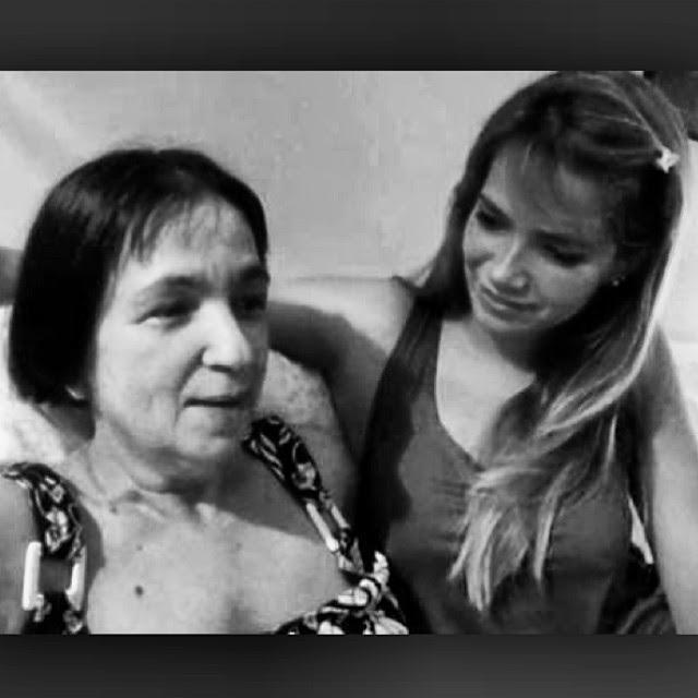 Fani Pacheco e a mãe (Foto: Reprodução/Instagram)