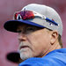 In the N.L.C.S., which began Friday, Mark McGwire, the Dodgers' batting coach, is facing the Cardinals.