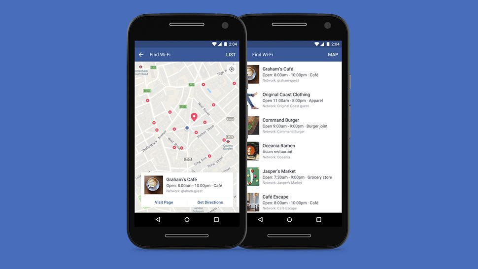 Now facebook is pushing out a new feature inside its mobile apps to help you locate the nearest hotspots.