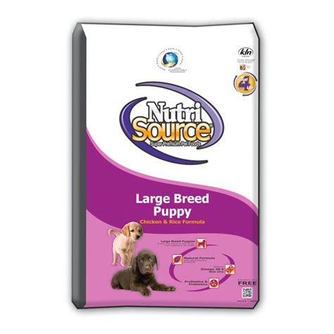 nutri source large breed puppy chicken rice grateful pet
