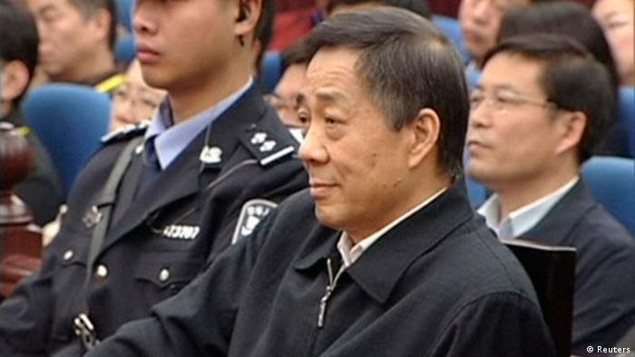 China Bo Xilai Prozess 25. Oktober 2013