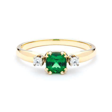 Tsavorite Garnet and Diamond Ring   JM Edwards Jewelry