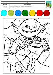 Coloriage Magique Mc En Maternelle