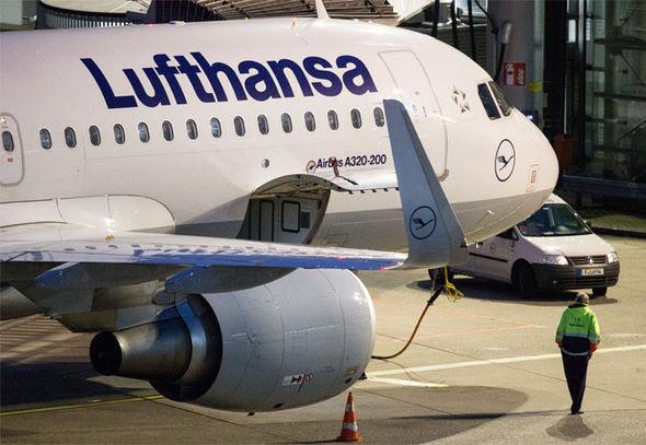 lufthansa pilot strike flights cancelled pay