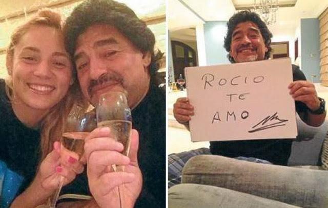 La supuesta nueva novia de Maradona estaría embarazada