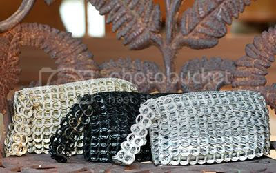 Pop Tabs Wristlet Bag