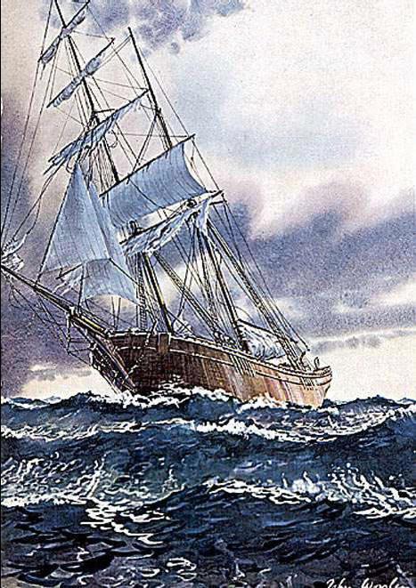 Tragedy misterius Mary Celeste