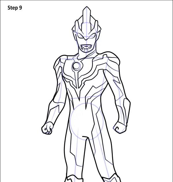 Mewarnai Ultraman Ginga N Warna Best Pictures Piow Download