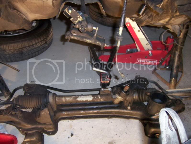 Audi A3 8p Steering Rack Removal