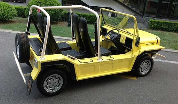 The iconic Moke beach buggy is set to make a return.