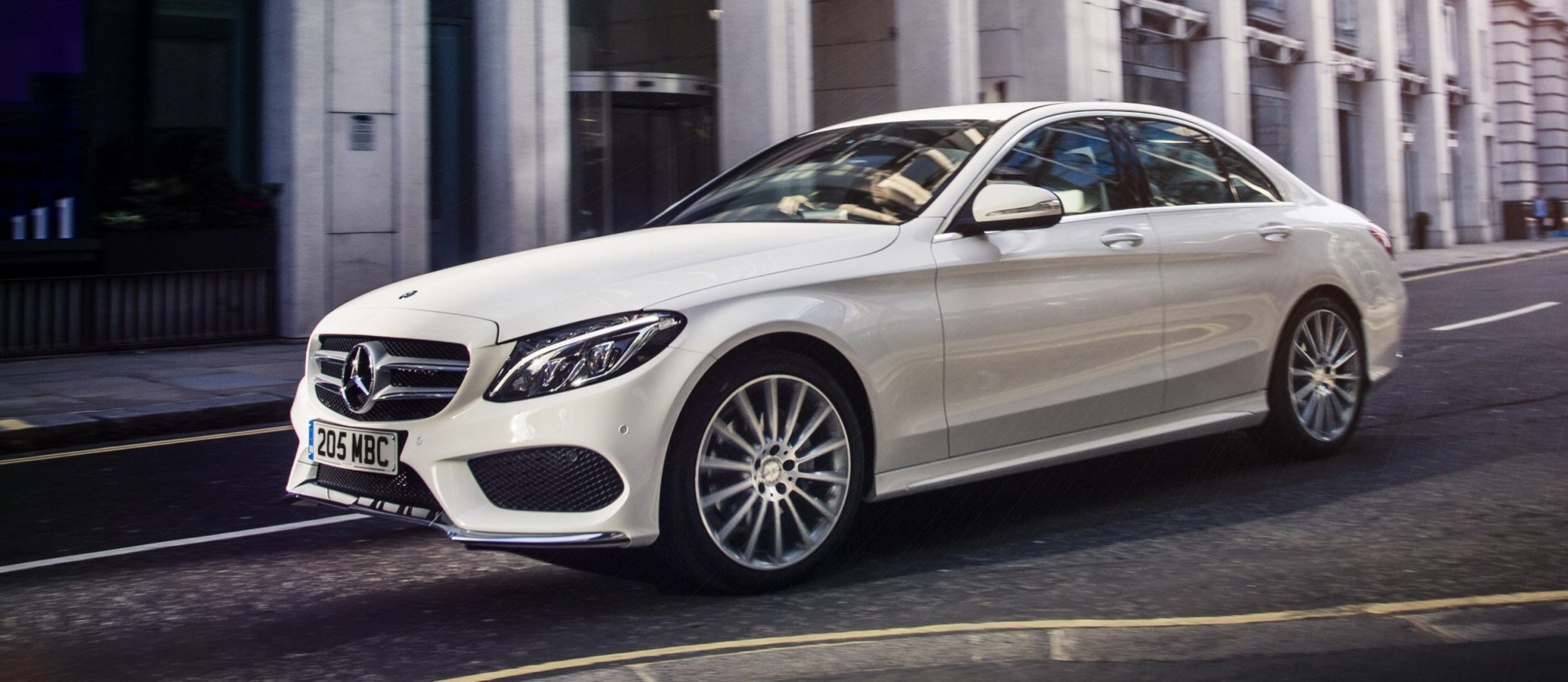 2015 Mercedes-Benz C-Class in 40 New Photos From London ...