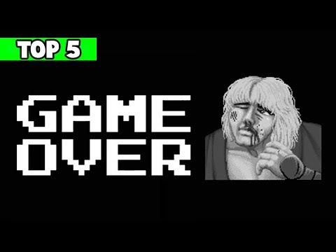 Las 5 PANTALLAS De Game Over más HUMILLANTES De Los Videojuegos
