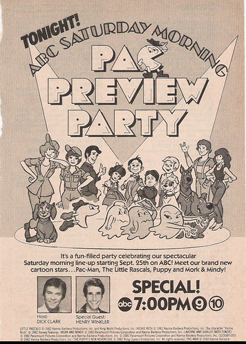 ABC Saturday Morning Cartoon Preview ad, 1982
