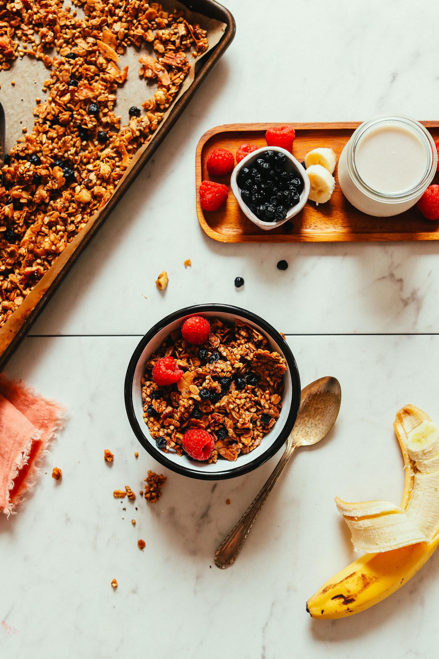 Simple Buckwheat Granola Minimalist Baker Recipes