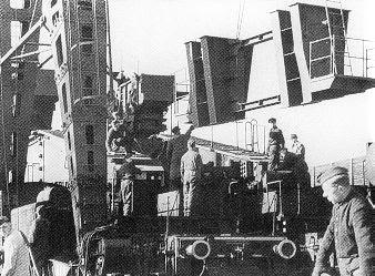 Cañón ferroviario Dora Schwerer Gustav railway gun