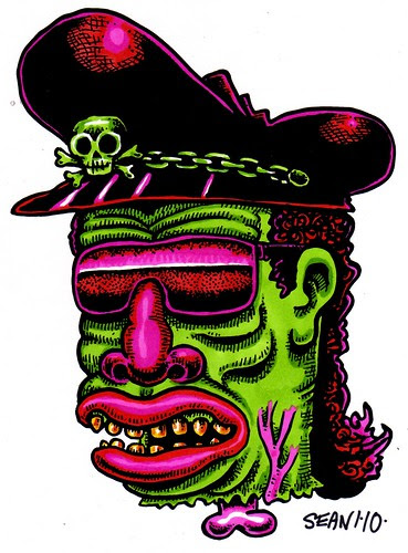 Ice Cee Voodoo Haiti Tribute Green
