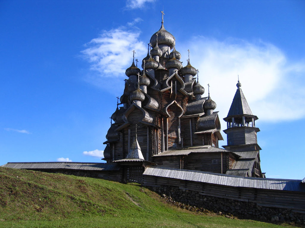 Russian Church, No Nails Used Building It   Global Affairs