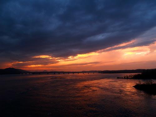 Big Dam Sunset